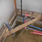 建屋内部の配管